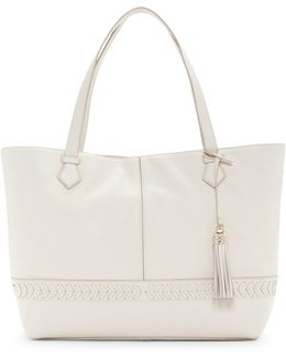 Lacey Leather Tote