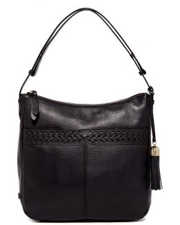 Lacey Leather Hobo