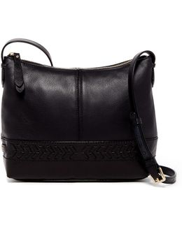 Lacey Leather Crossbody