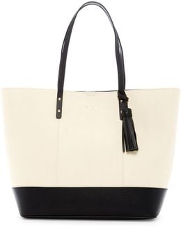 Palermo Medium Leather Tote
