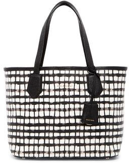 Abbot Reptile Embossed Small Tote