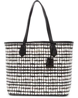 Abbot Reptile Embossed Tote