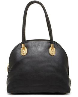 Benson Ii Leather Dome Satchel