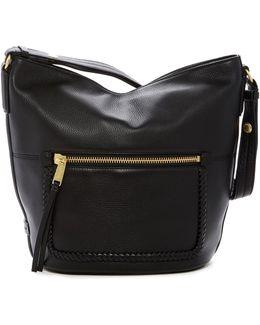 Celia Leather Bucket Hobo