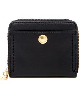 Benson Ii Leather Zip Around Wallet