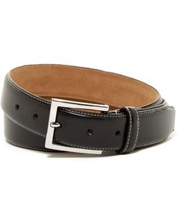 Contrast Stitched Belt