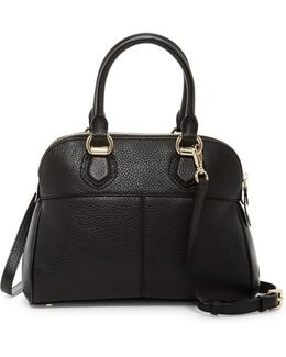 Tali Small Dome Leather Satchel