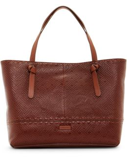 Brynn Leather Tote