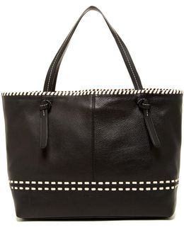 Brynn Whip-stitched Tote