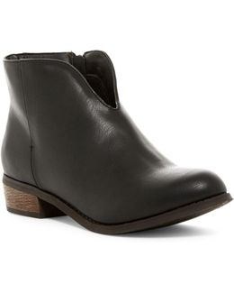 Chrystal Burnished Bootie