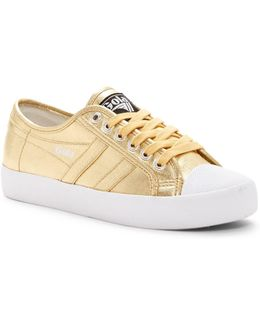 Coaster Metallic Canvas Sneaker