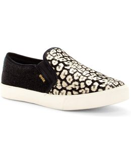 Orchid Safari Suede Slip-on Sneaker
