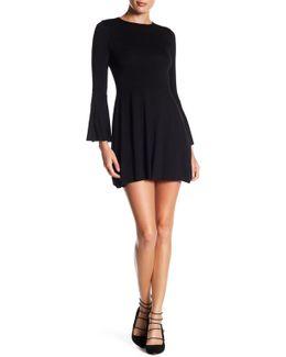 Sasha Bell Sleeve Mini Dress