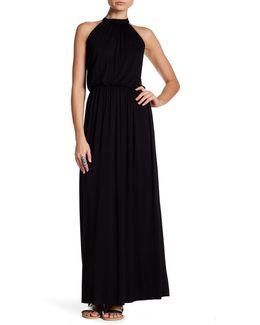 Evelyn Halter Maxi Dress
