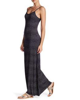 Hazel Printed Maxi Dress