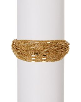 Multi-strand Link Chain Bracelet