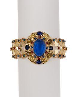 Embellished Sunburst Stretch Bracelet