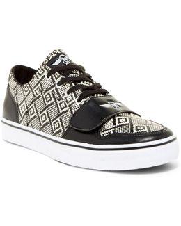 Cesario Lo Xvi Woven Print Sneaker