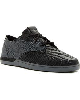Vito Reptile Embossed Lo Sneaker