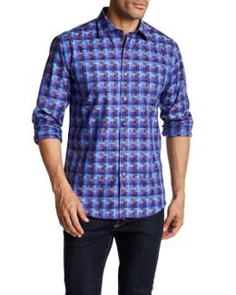 Multicolor Long Sleeve Shaped Fit Shirt