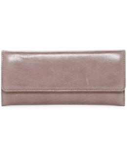 Vintage Sadie Trifold Leather Wallet