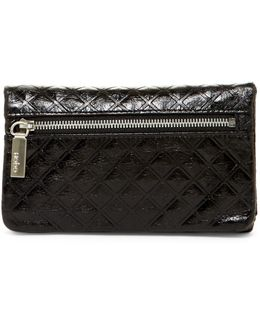 Tori Quilted Leather Wallet