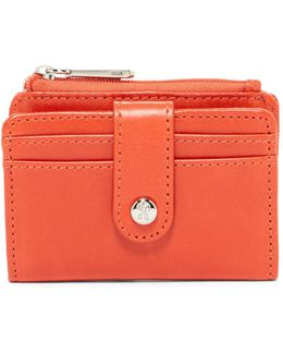 Val Indexer Leather Card Case