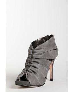 Clara Peep Toe Ankle Bootie