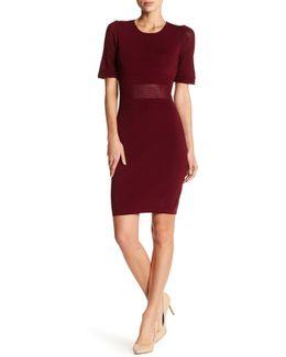 Short Sleeve Knit Dress