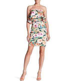 Strapless Popover Dress