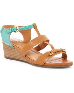 Lupe Leather Sandal