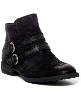 Pirlo Distressed Leather Ankle Boot