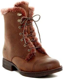 Retta Genuine Shearling Lined Boot