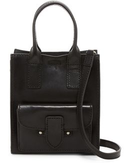 Casey Mini Leather Tote