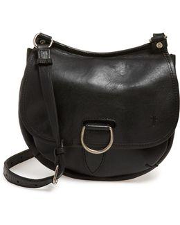 'amy' Leather Crossbody Bag