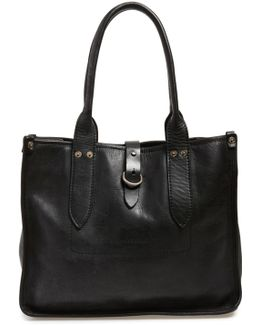 'amy' Leather Shopper