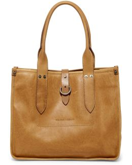Amy Leather Shopper