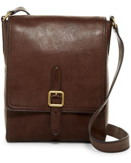Claude Leather Messenger Bag