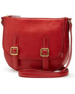 Claude Leather Crossbody Bag