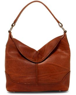 Cara Leather Hobo Bag