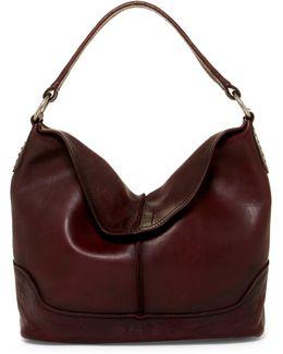 Cara Leather Hobo Bag