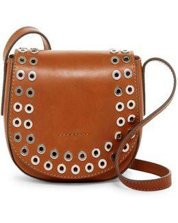 Cassidy Leather Saddle Crossbody