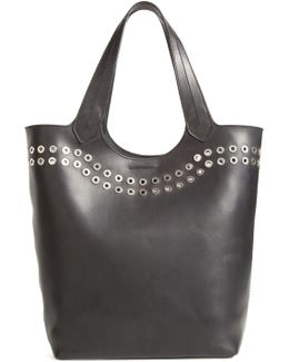 Cassidy Studded Leather Tote