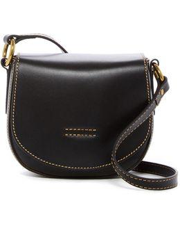 Harness Small Leather Saddle Bag