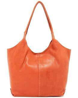 Naomi Leather Pickstitch Shoulder Bag