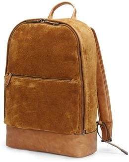 Chris Suede Backpack