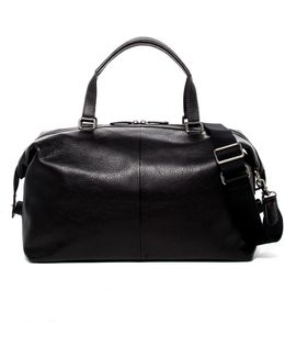 Chris Leather Overnight Duffle