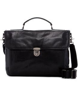 Stanton Top Handle Leather Briefcase