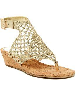 Deeba Slingback Wedge Sandal