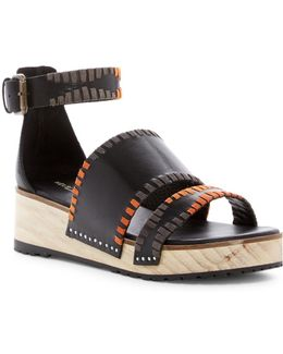 Degraw Platform Wedge Sandal